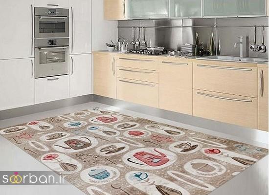 فرش آشپزخانه جهیزیه عروس-17