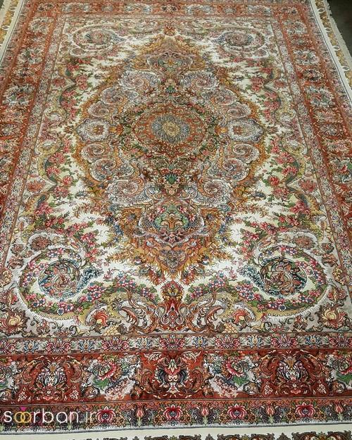 انواع طرحهای فرش دستباف تبریز جهیزیه -1