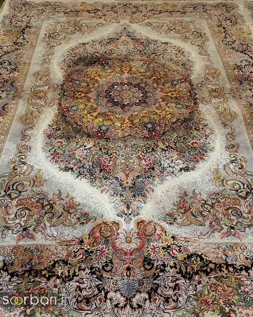 انواع طرحهای فرش دستباف تبریز جهیزیه -3