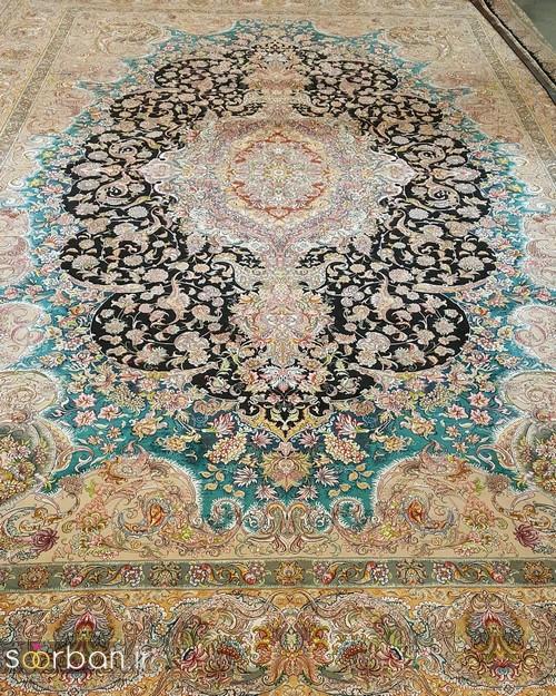 انواع طرحهای فرش دستباف تبریز جهیزیه -8