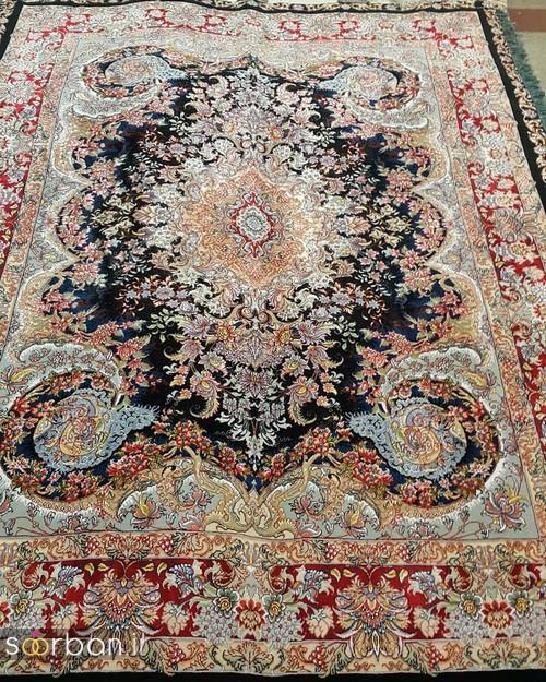 انواع طرحهای فرش دستباف تبریز جهیزیه -13