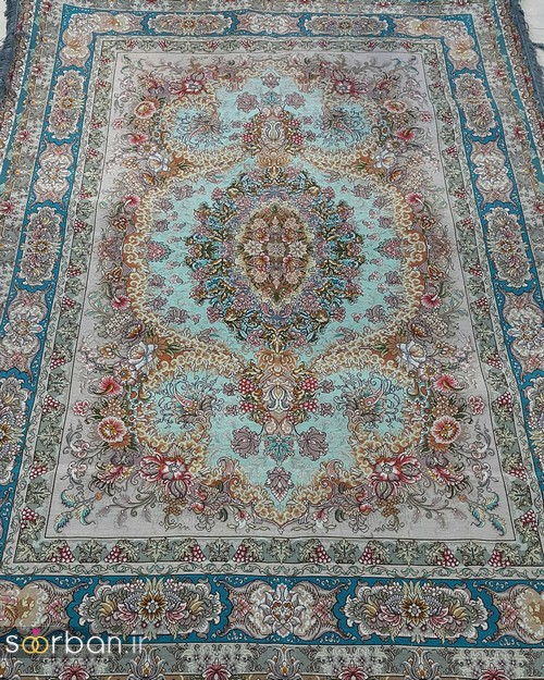انواع طرحهای فرش دستباف تبریز جهیزیه -16