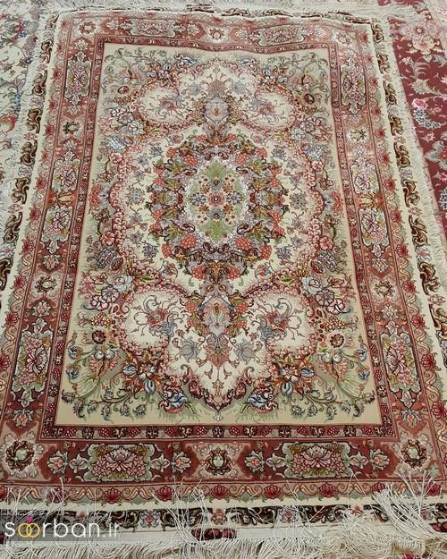 انواع طرحهای فرش دستباف تبریز جهیزیه -18