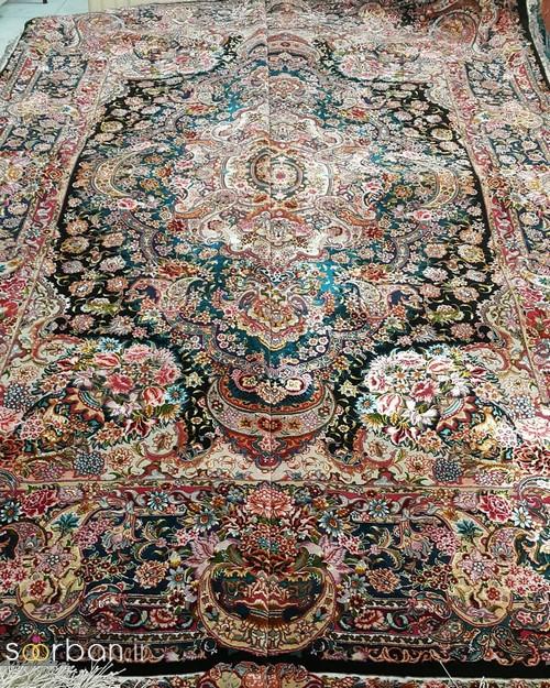 انواع طرحهای فرش دستباف تبریز جهیزیه -19