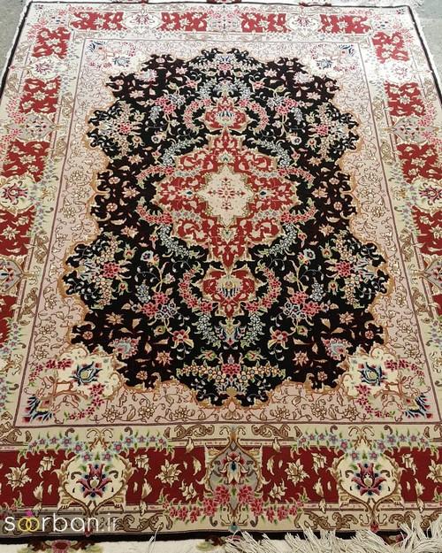 انواع طرحهای فرش دستباف تبریز جهیزیه -20