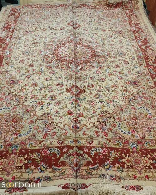 انواع طرحهای فرش دستباف تبریز جهیزیه -22