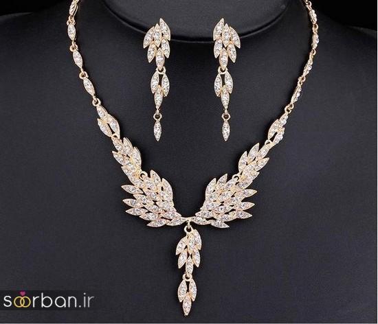 جدیدترین مدل های گردنبند طلا عروس-1