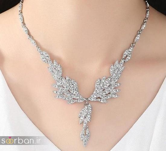 جدیدترین مدل های گردنبند طلا عروس-2