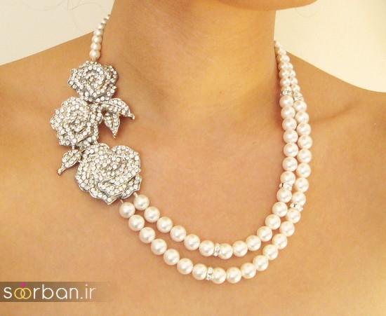 جدیدترین مدل های گردنبند طلا عروس-3
