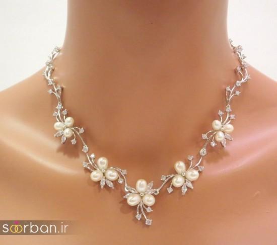 جدیدترین مدل های گردنبند طلا عروس-04