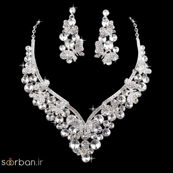 جدیدترین مدل های گردنبند طلا عروس-6