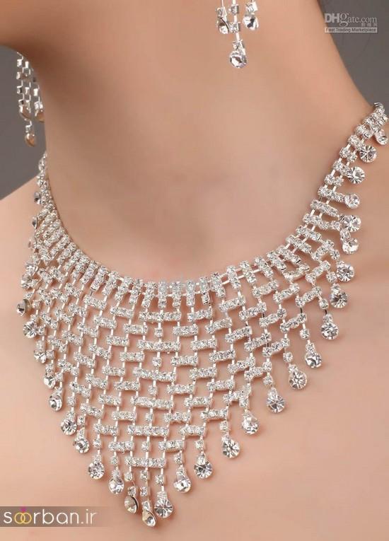 جدیدترین مدل های گردنبند طلا عروس-8