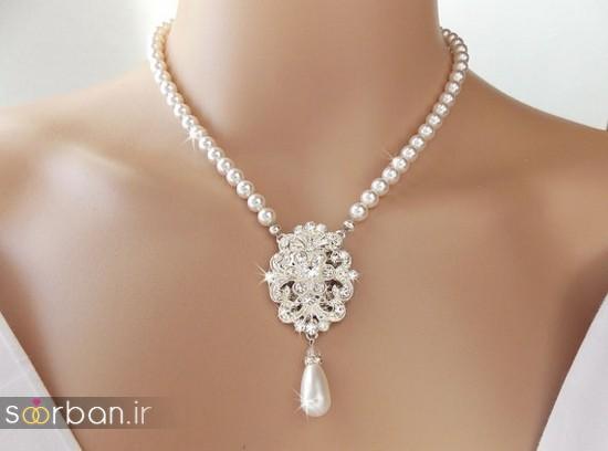 جدیدترین مدل های گردنبند طلا عروس-9