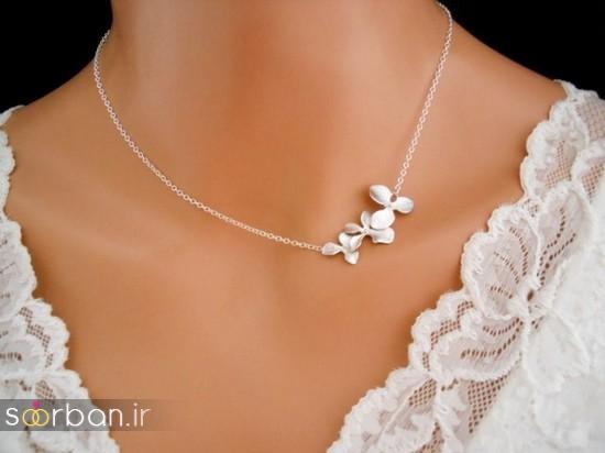 جدیدترین مدل های گردنبند طلا عروس-11