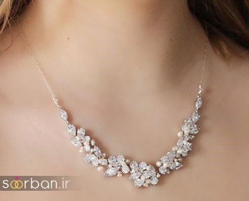 جدیدترین مدل های گردنبند طلا عروس-12