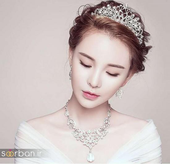 جدیدترین مدل های گردنبند طلا عروس-13