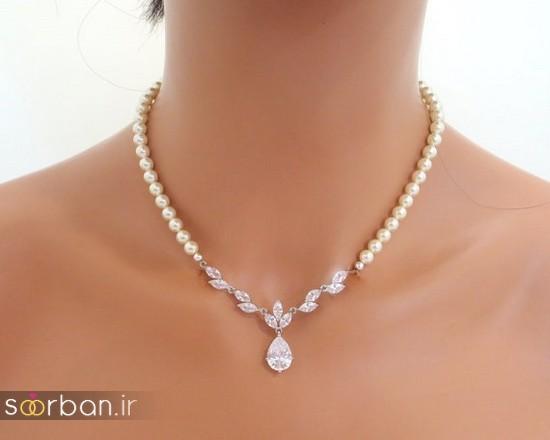 جدیدترین مدل های گردنبند طلا عروس-16