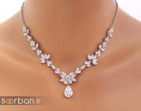 جدیدترین مدل های گردنبند طلا عروس-17