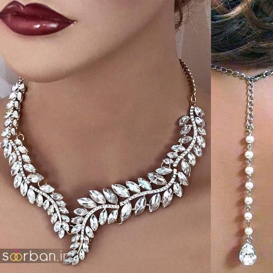 جدیدترین مدل های گردنبند طلا عروس-19