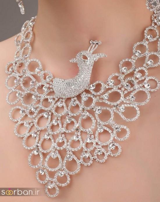 جدیدترین مدل های گردنبند طلا عروس-21
