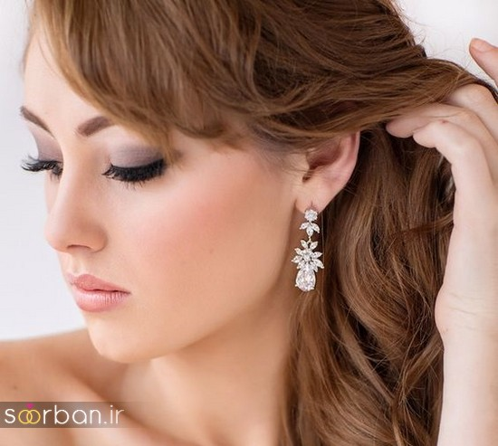 گوشواره عروس شیک و جدید-12