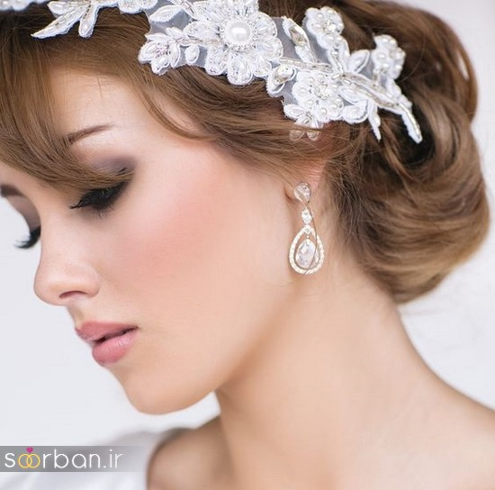 گوشواره عروس شیک و جدید-24