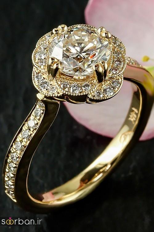 زیباترین حلقه های نامزدی و ازدواج 2018-6