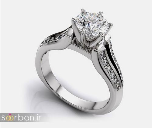زیباترین حلقه های نامزدی و ازدواج 2018-16