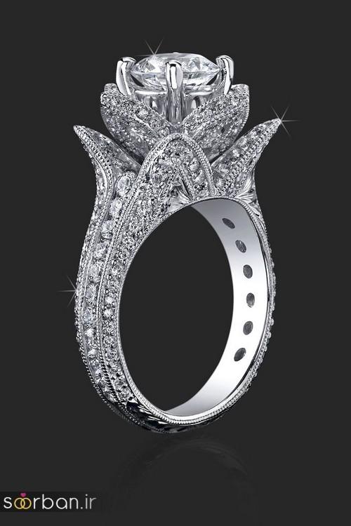 زیباترین حلقه های نامزدی و ازدواج 2018-17