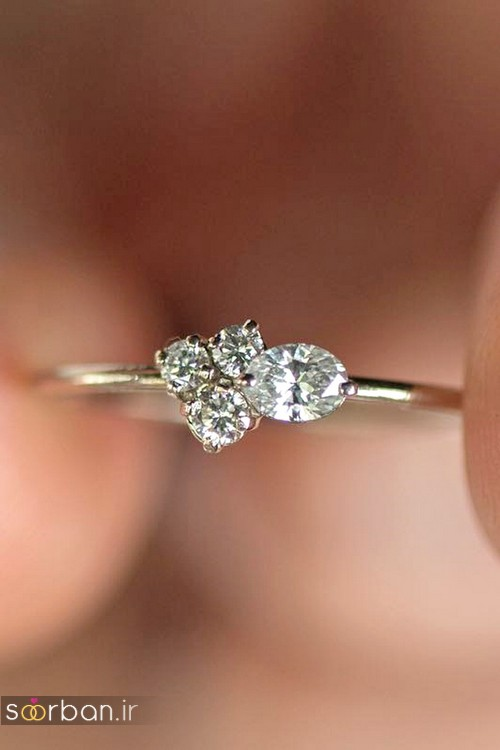 حلقه ازدواج معروف و محبوب در میان خانم ها-1