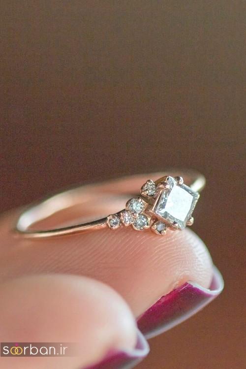 حلقه ازدواج معروف و محبوب در میان خانم ها-4