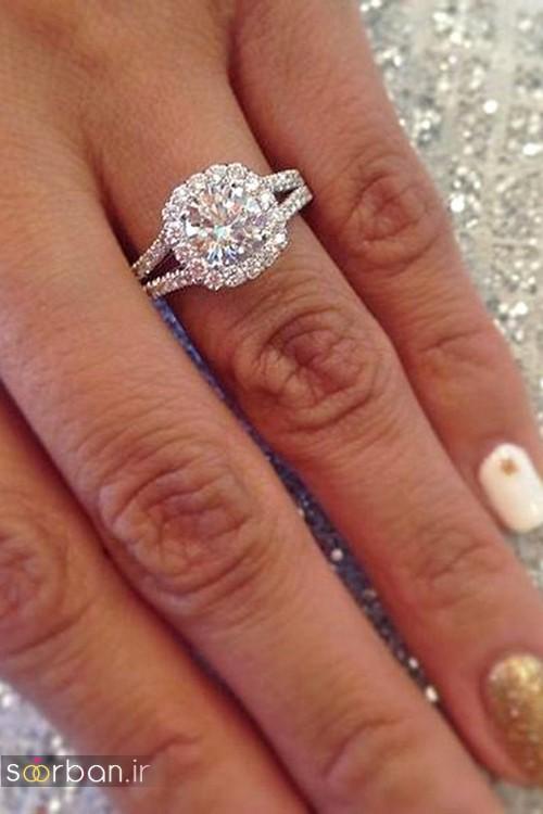 حلقه ازدواج معروف و محبوب در میان خانم ها-6