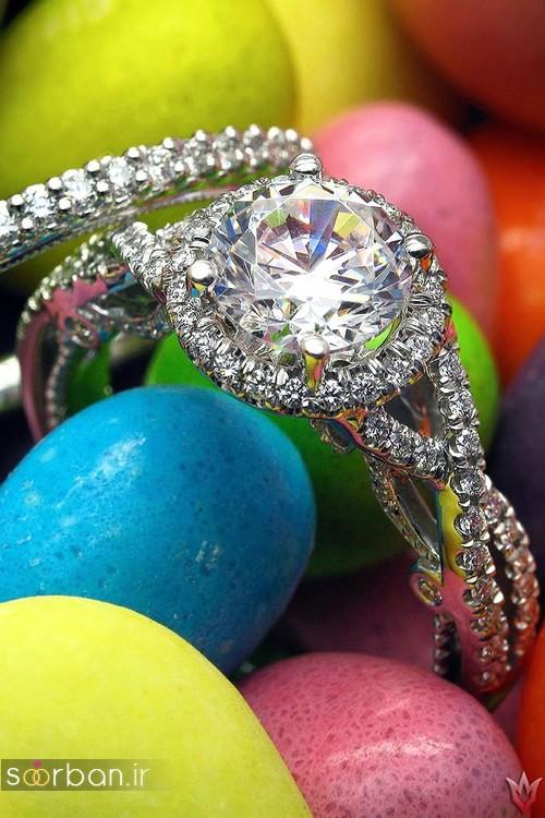 حلقه ازدواج معروف و محبوب در میان خانم ها-8