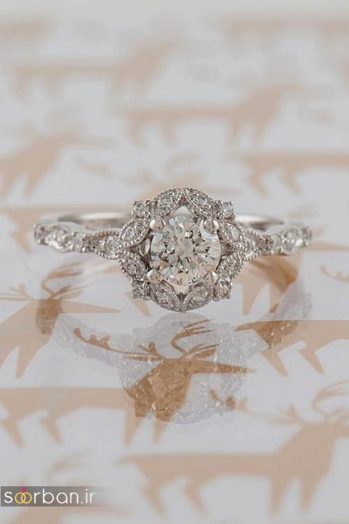 حلقه ازدواج معروف و محبوب در میان خانم ها-14