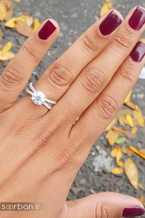 حلقه ازدواج معروف و محبوب در میان خانم ها-16