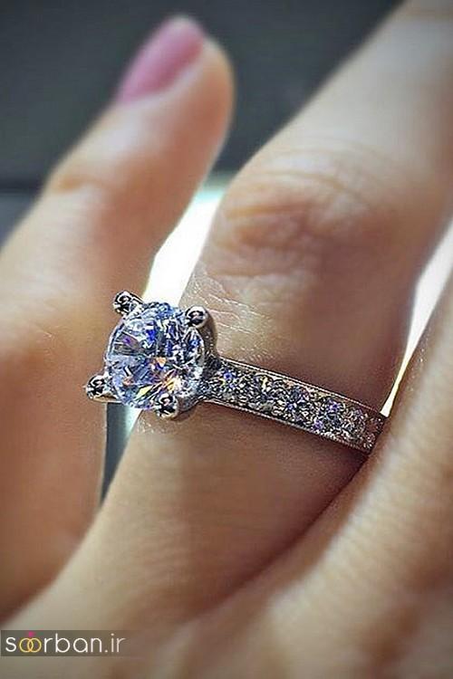 حلقه ازدواج معروف و محبوب در میان خانم ها-17