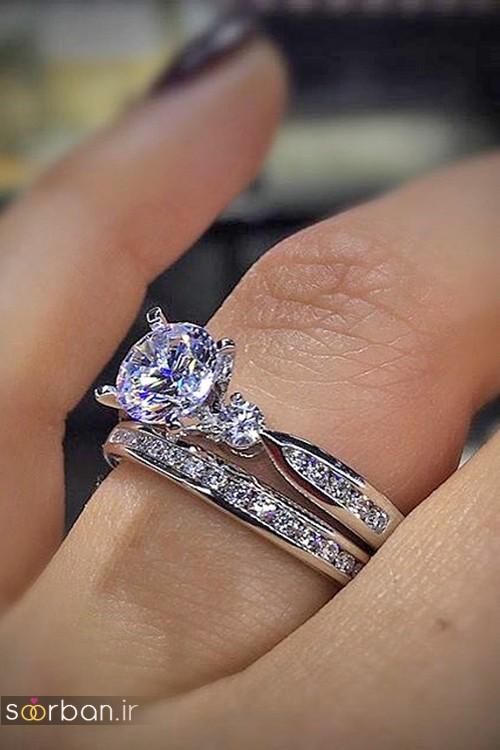 حلقه ازدواج معروف و محبوب در میان خانم ها-19