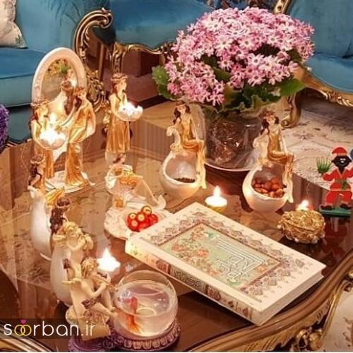 تزیین سفره هفت سین عروس ایرانی-1
