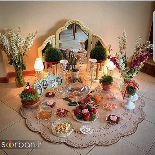 تزیین سفره هفت سین عروس ایرانی-2