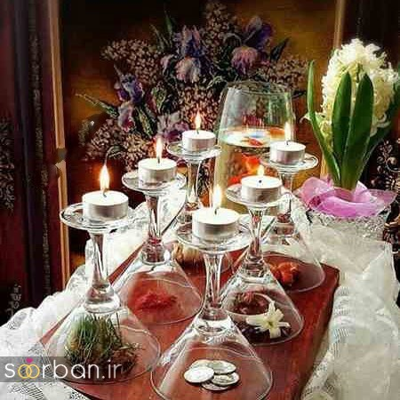 تزیین سفره هفت سین عروس ایرانی-07