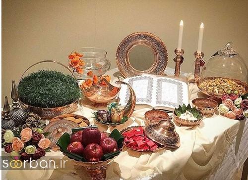 تزیین سفره هفت سین عروس ایرانی-8
