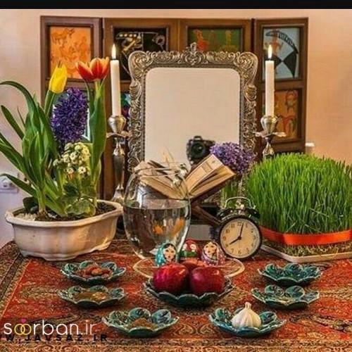 تزیین سفره هفت سین عروس ایرانی-9