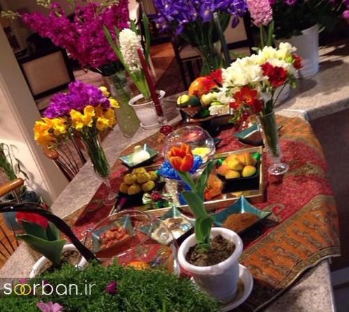تزیین سفره هفت سین عروس ایرانی-14
