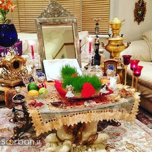 تزیین سفره هفت سین عروس ایرانی-22
