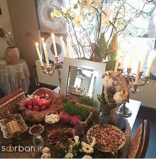 تزیین سفره هفت سین عروس ایرانی-25