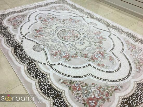 جدیدترین مدل های فرش ترک جهیزیه عروس -3
