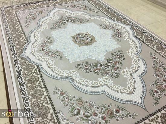 جدیدترین مدل های فرش ترک جهیزیه عروس -6