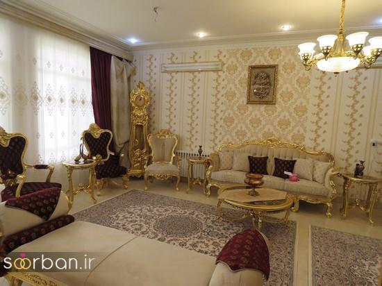 جدیدترین جهیزیه عروس اصفهانی شیک و زیباجدید -11