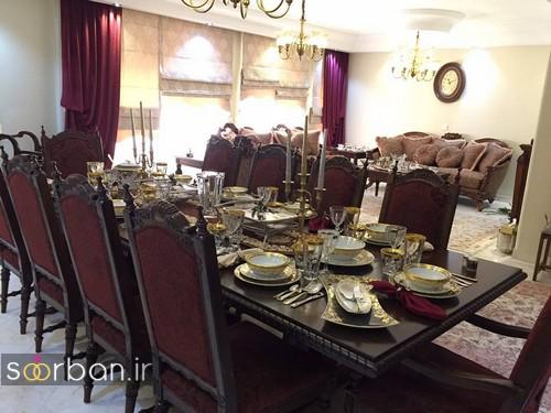 چیدمان و دیزاین مهمان خانه جهیزیه عروس