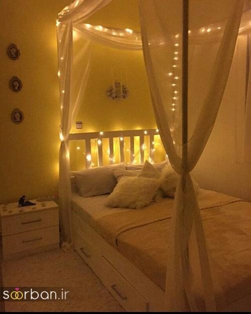 چیدمان و تزیین اتاق خواب جهیزیه عروس-13
